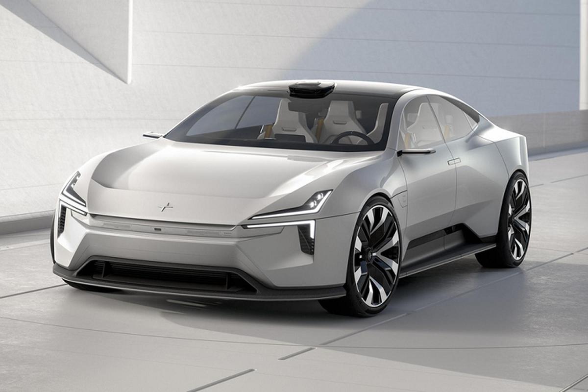 Xe dien Polestar Precept co gi de canh tranh Tesla Model S?