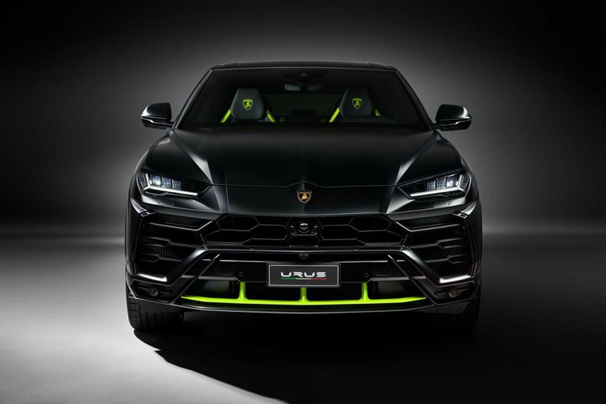 Ngam sieu SUV Lamborghini Urus Graphite Capsule 2021 dam ca tinh