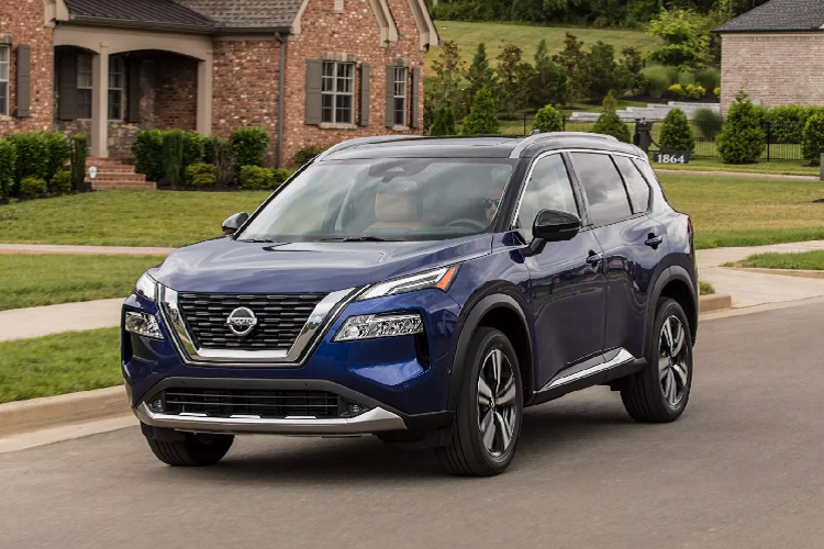 Nissan X-Trail 2021 moi ban ra tu 595 trieu dong tai My