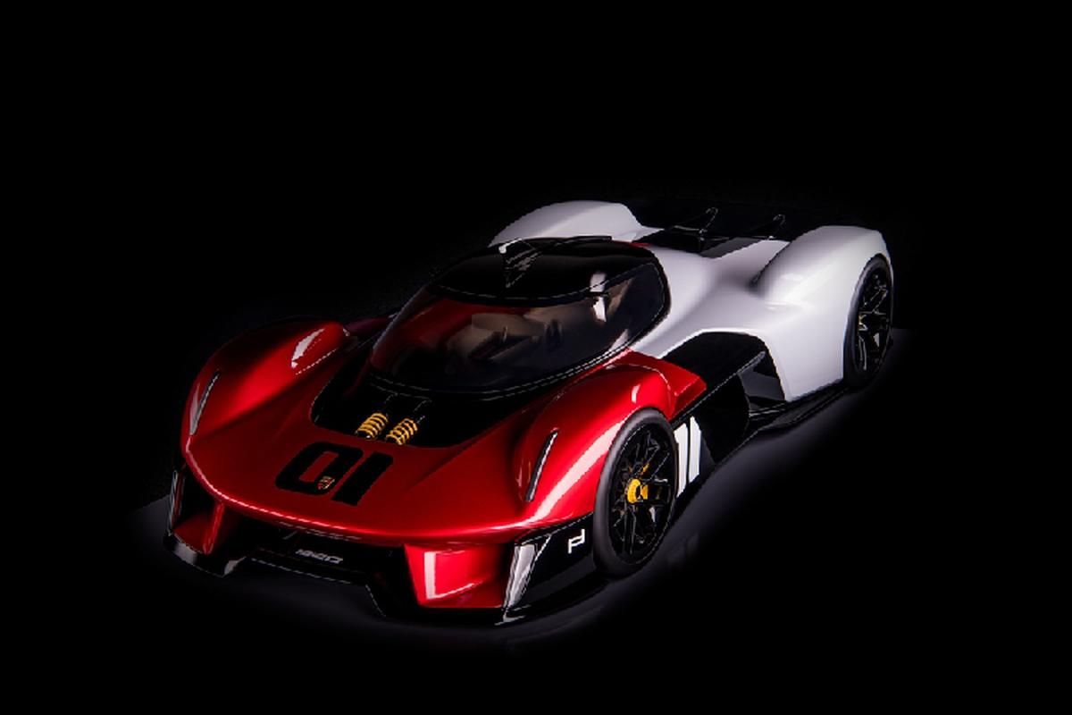 Porsche Vision 920, sieu xe dua Le Mans danh cho duong pho