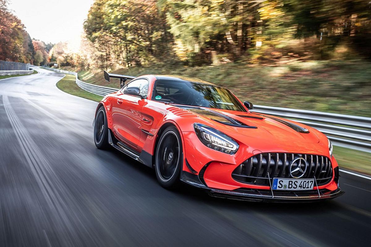 Mercedes-AMG GT, xe thuong mai nhanh nhat tai Nurburgring-Hinh-3