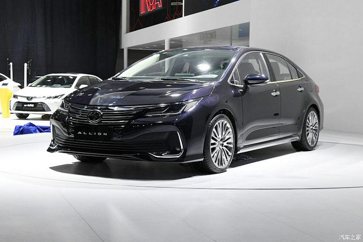 Chi tiet sedan Toyota Allion 2021 moi cho thi truong Trung Quoc