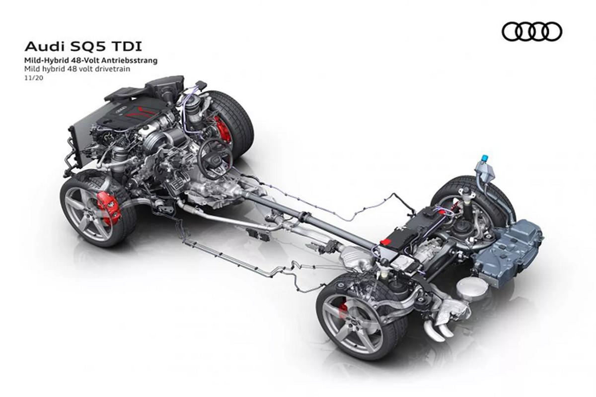 Audi SQ5 2021 moi cai tien manh, chi voi dong co dau-Hinh-3