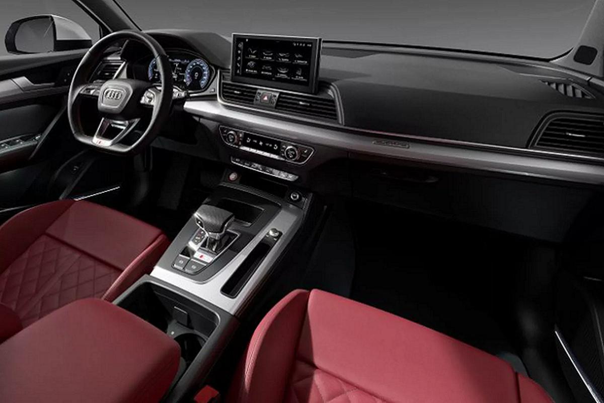 Audi SQ5 2021 moi cai tien manh, chi voi dong co dau-Hinh-4