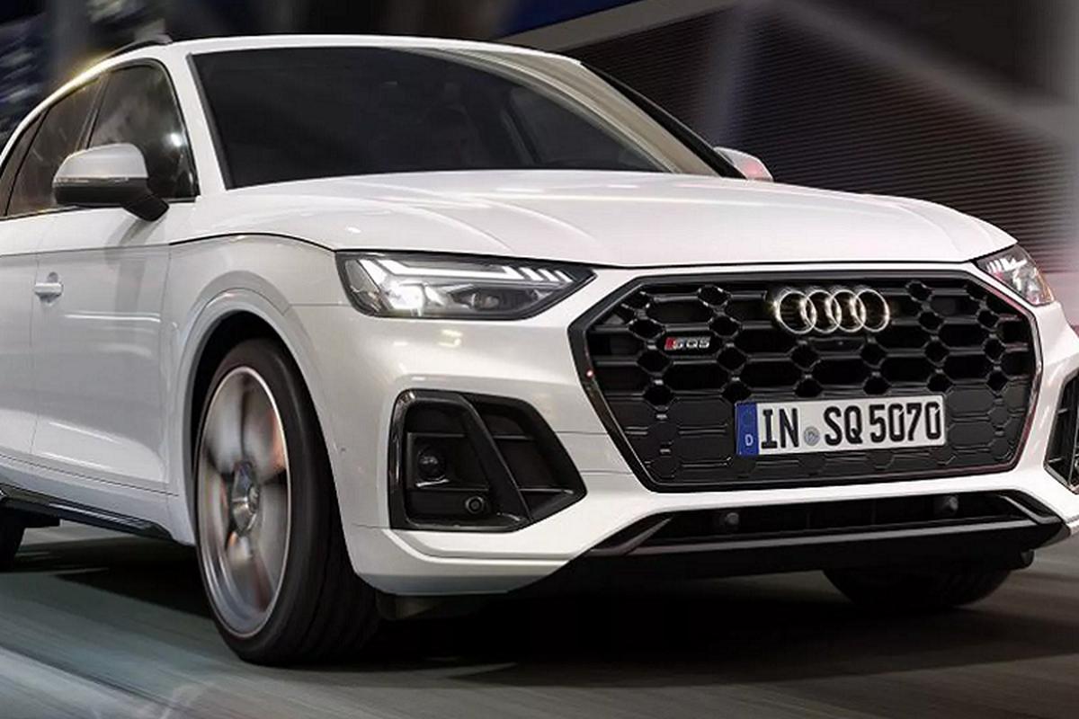 Audi SQ5 2021 moi cai tien manh, chi voi dong co dau