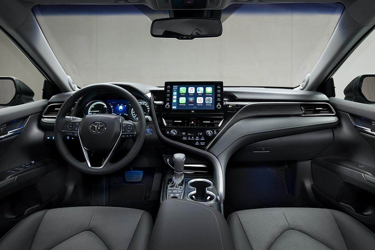 Toyota Camry Hybrid 2021 nang cap cong nghe, chao chau Au-Hinh-5