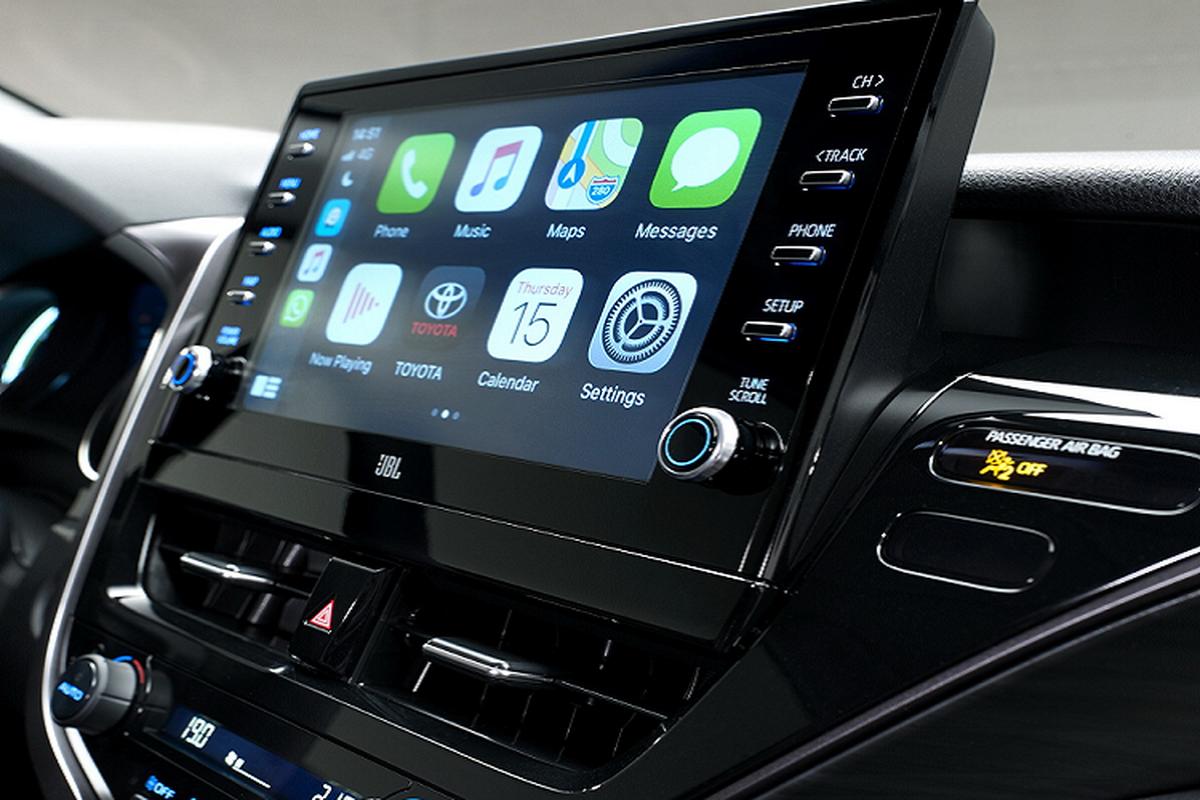 Toyota Camry Hybrid 2021 nang cap cong nghe, chao chau Au-Hinh-7