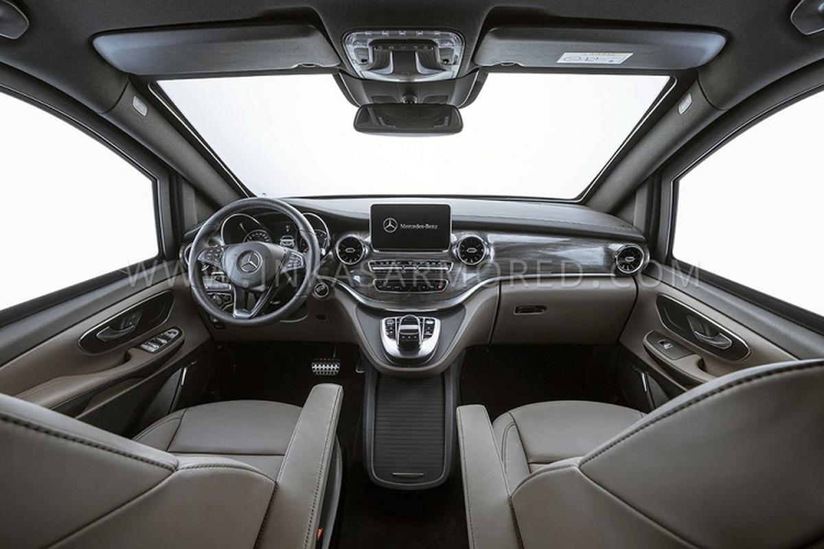 MPV hang sang Mercedes-Benz V-Class, boc giap chong ca luu dan-Hinh-5