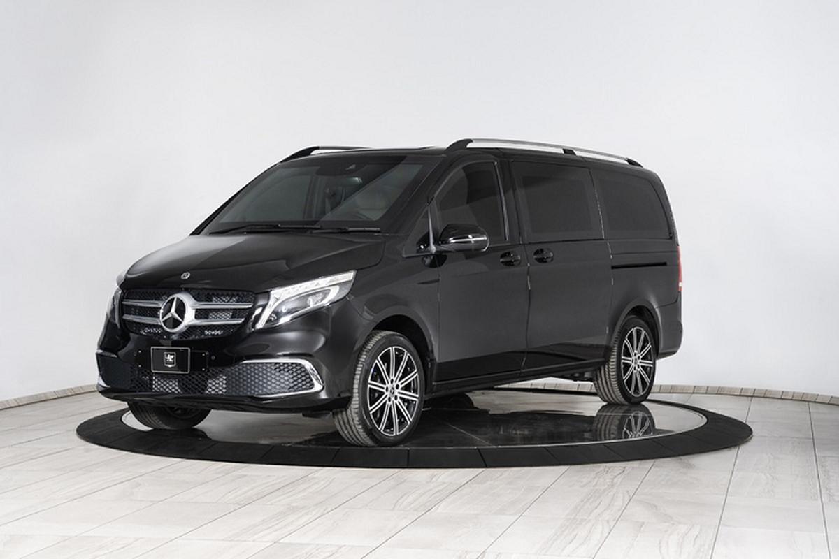 MPV hang sang Mercedes-Benz V-Class, boc giap chong ca luu dan