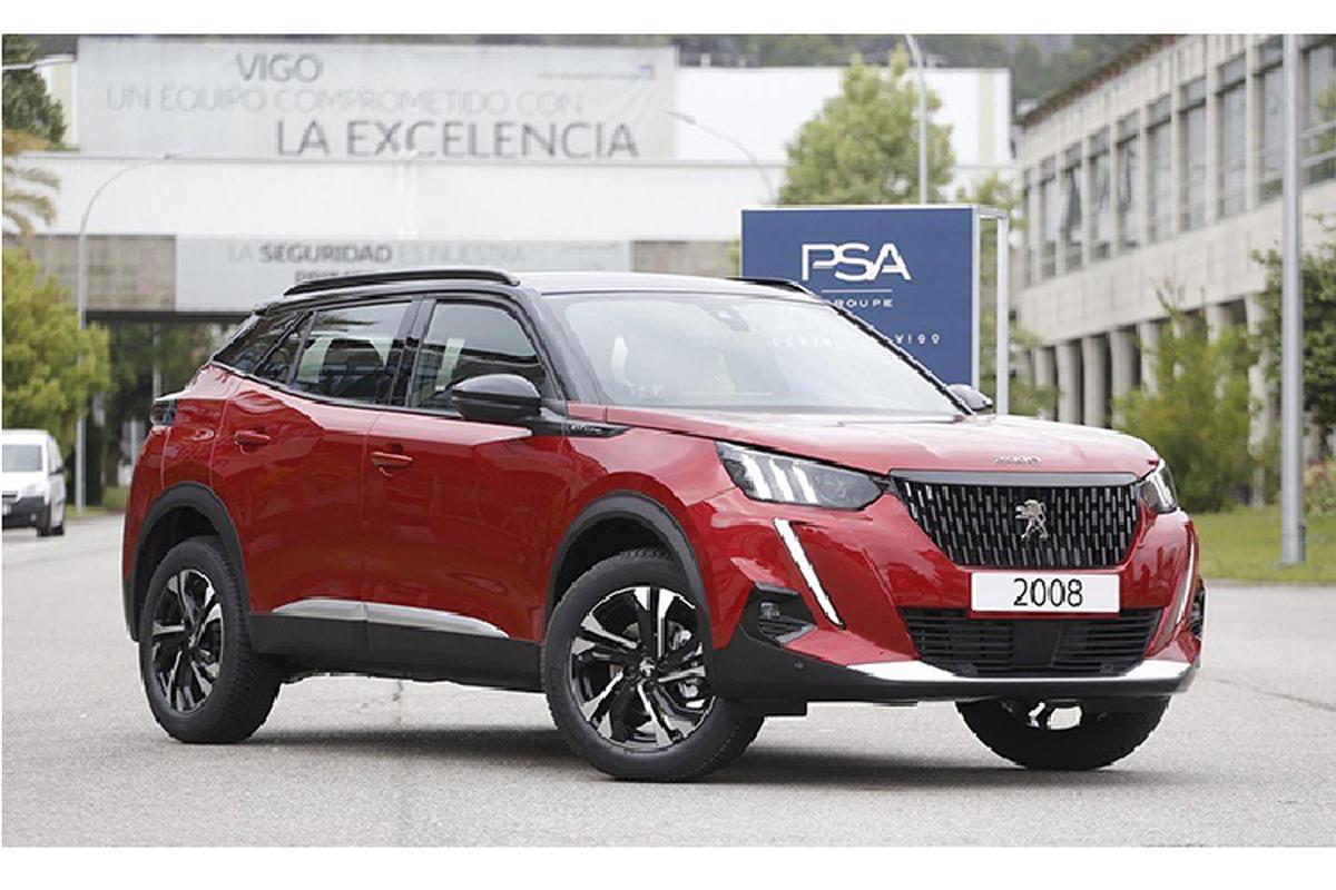 Peugeot 2008 2021 sap ra mat Viet Nam,