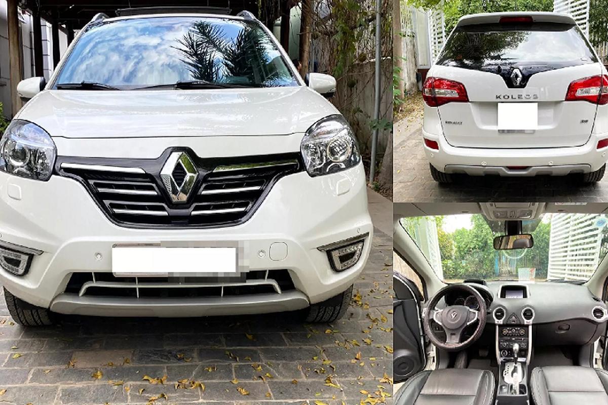 Renault Koleos chay 5 nam tai Viet Nam, bay hon 700 trieu dong