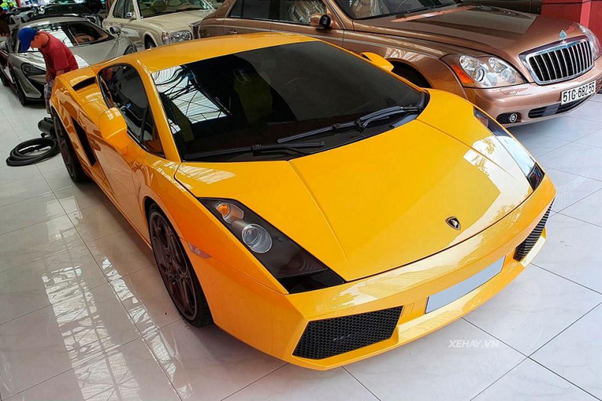 Sieu xe Lamborghini Gallardo so huu trang bi doc nhat Viet Nam-Hinh-7