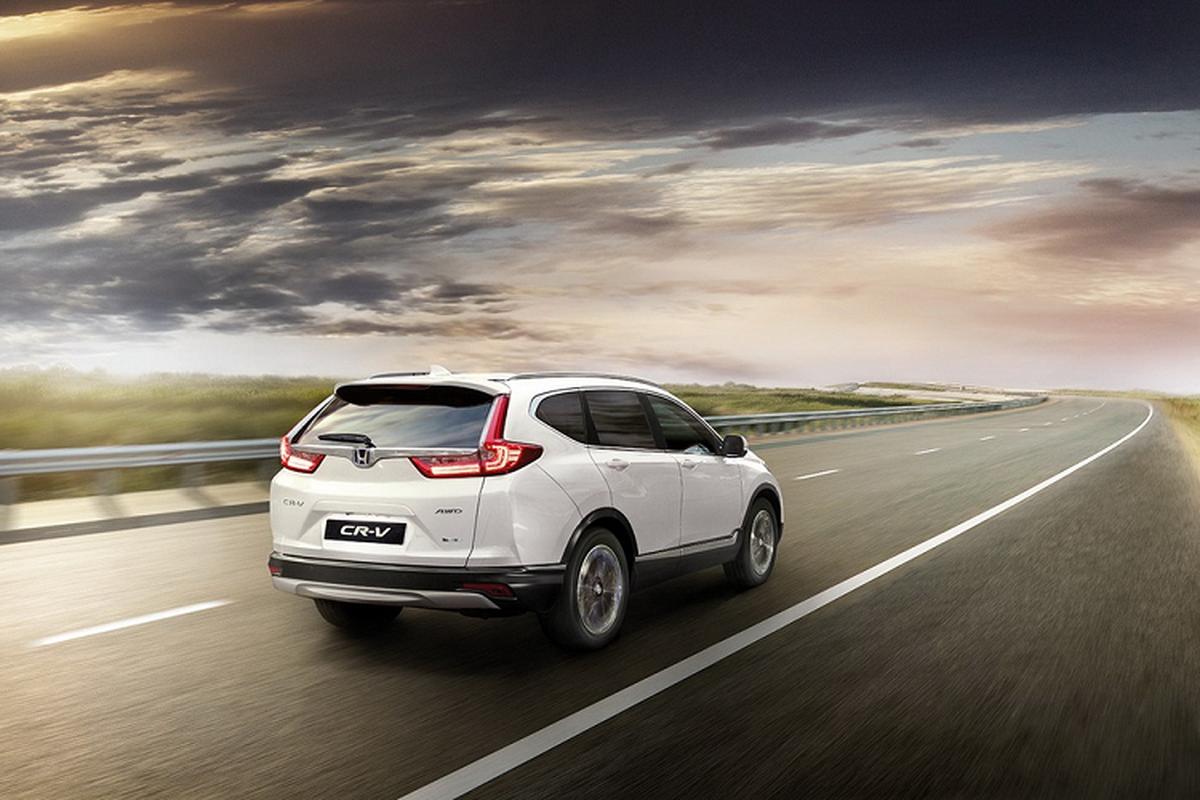 Ra mat SUV Honda CR-V Hybrid 2021 tu 931 trieu dong-Hinh-2