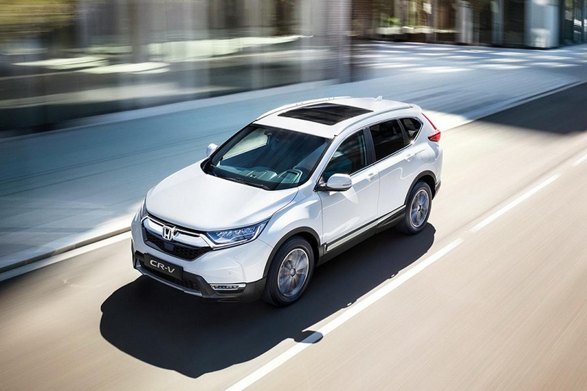 Ra mat SUV Honda CR-V Hybrid 2021 tu 931 trieu dong-Hinh-7