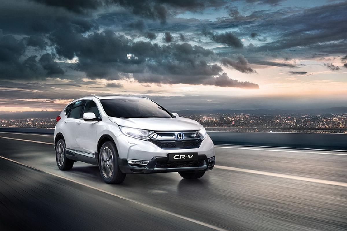 Ra mat SUV Honda CR-V Hybrid 2021 tu 931 trieu dong
