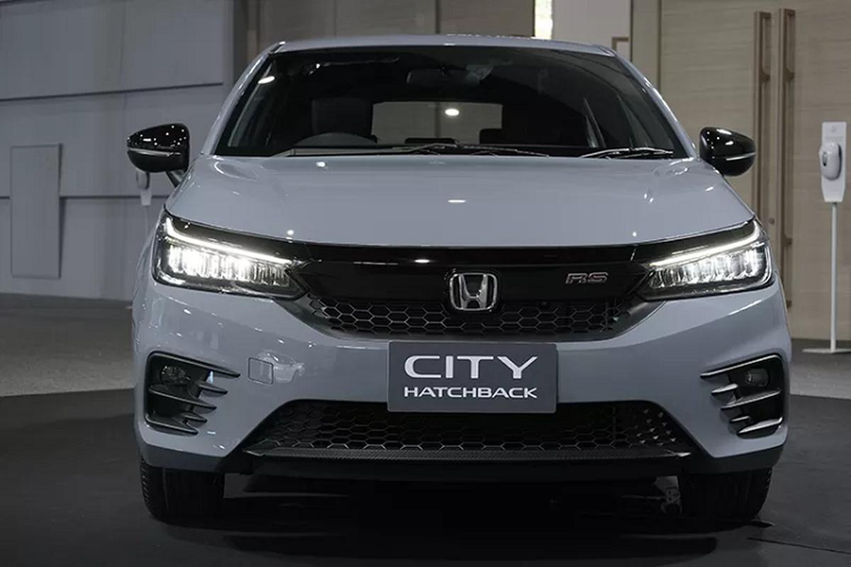 Honda City hatchback 2021 mau xam xi mang gay sot tai Thai Lan-Hinh-4