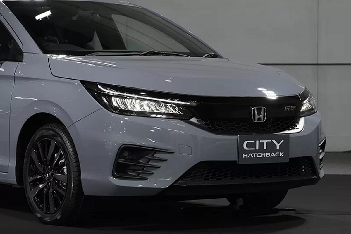 Honda City hatchback 2021 mau xam xi mang gay sot tai Thai Lan-Hinh-5