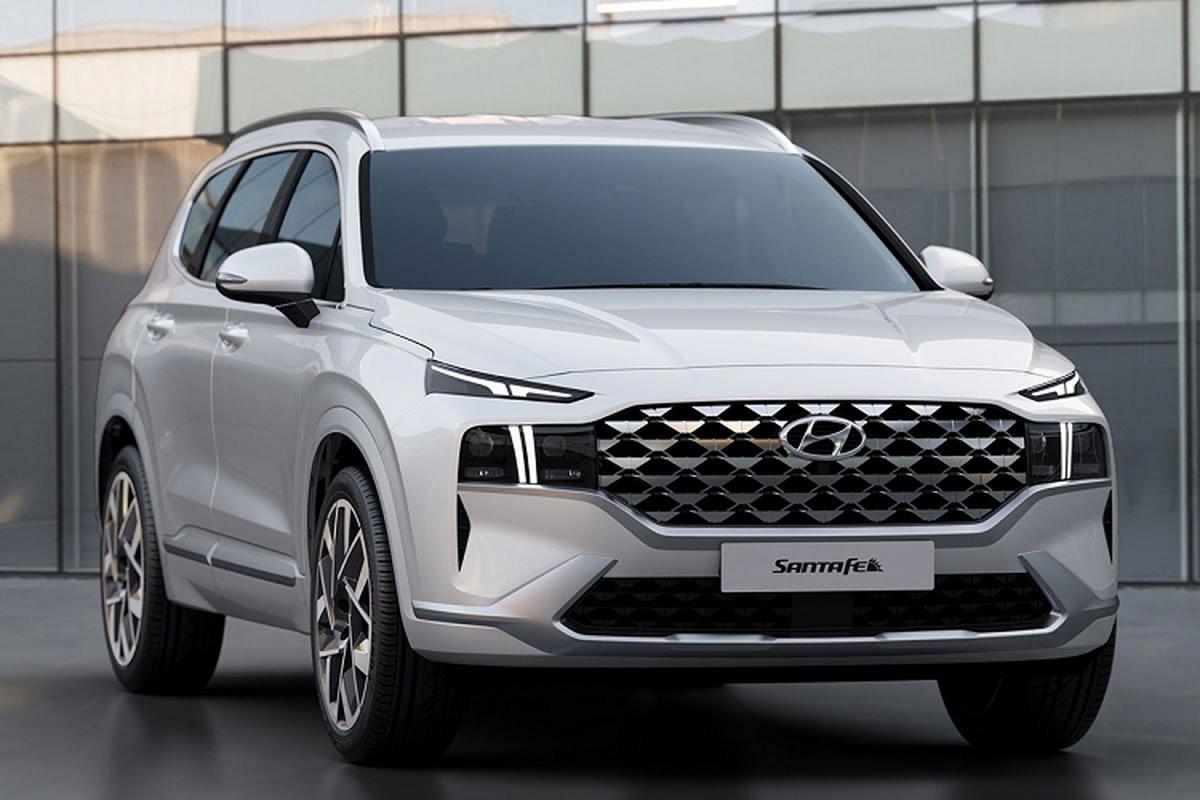 Hyundai SantaFe 2021 moi sap ban o Viet Nam co gi