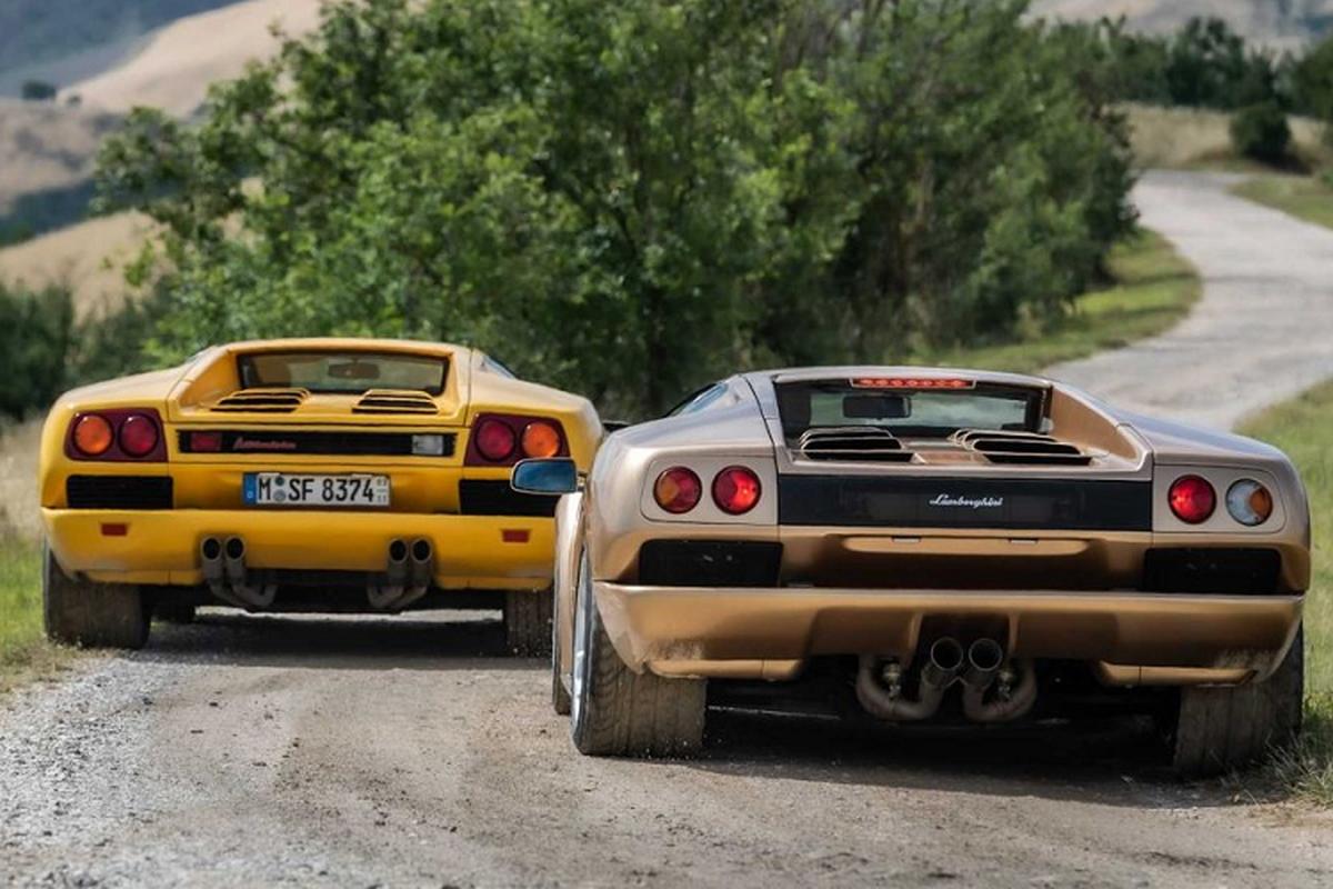 Sieu xe dinh dam Lamborghini Diablo, buoc sang tuoi