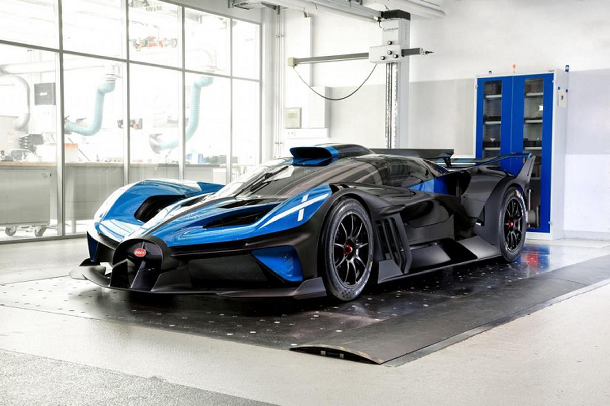 """""""Giai ma"""" thiet ke tuong lai cua sieu xe Bugatti Bolide"""
