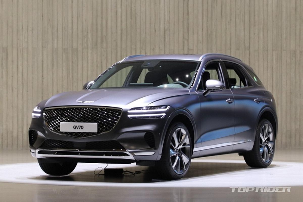 "Genesis GV70 2021 moi ""ra lo"", dau Mercedes-Benz GLE va BMW X5-Hinh-2"