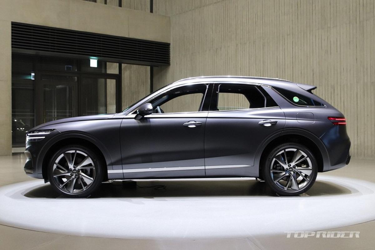 "Genesis GV70 2021 moi ""ra lo"", dau Mercedes-Benz GLE va BMW X5"