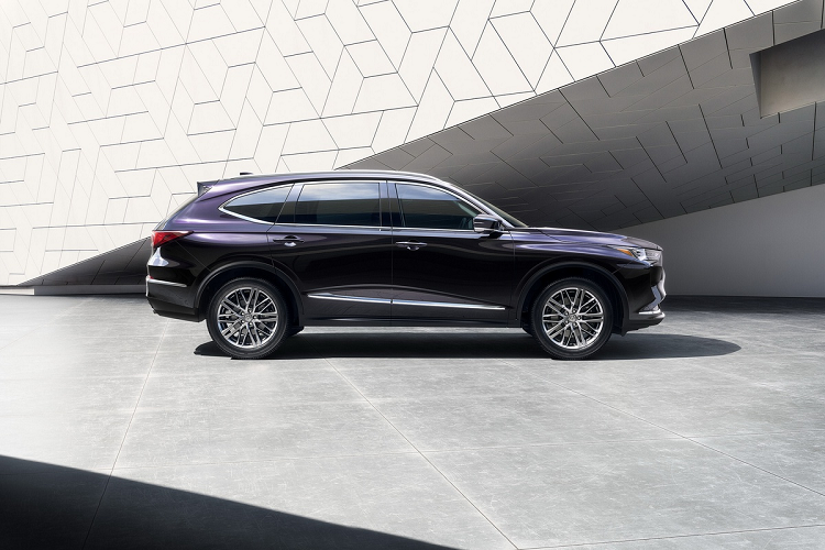 Acura MDX 2022 the he moi duoc