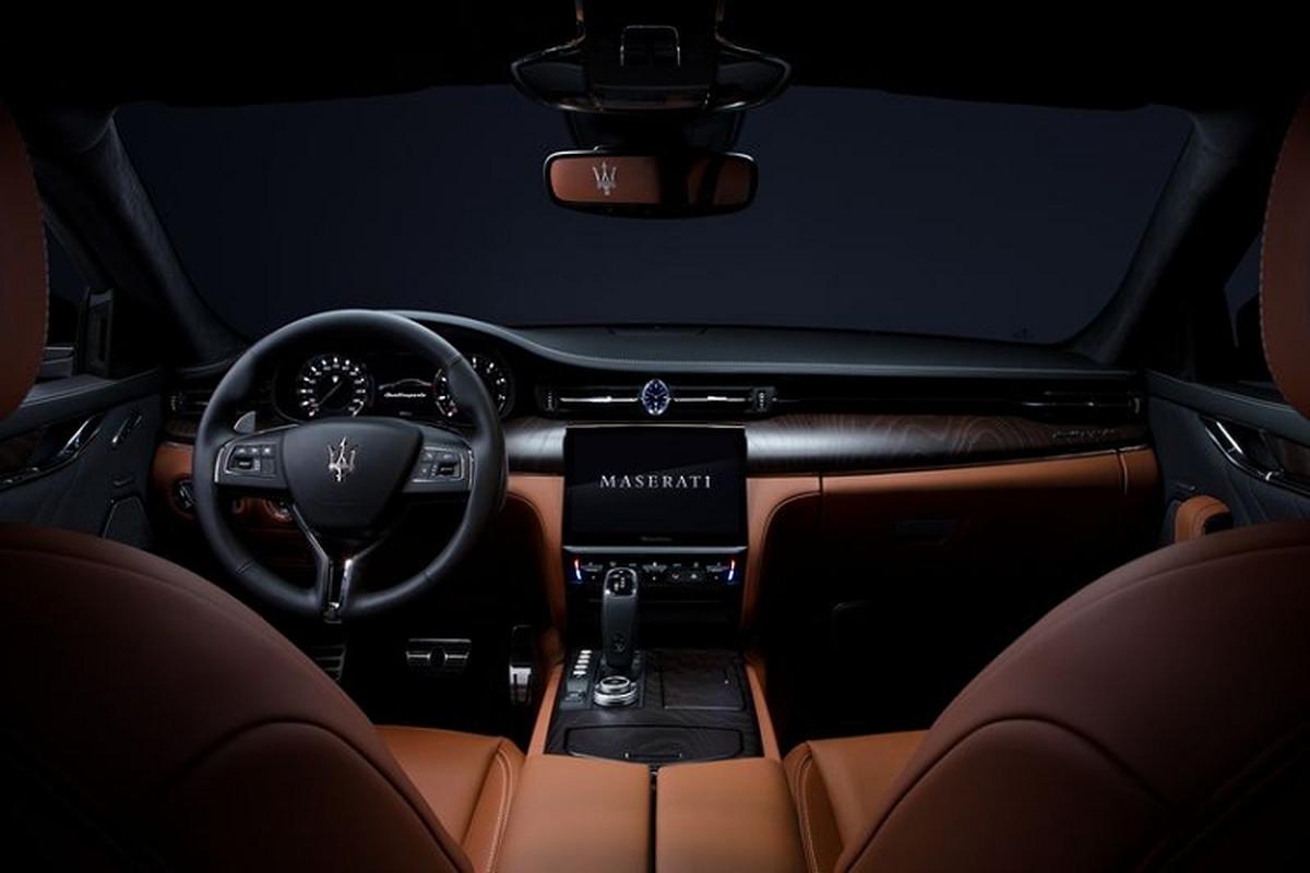 Maserati 2021 nang cap toan dien, man hinh trung tam to khong lo-Hinh-4