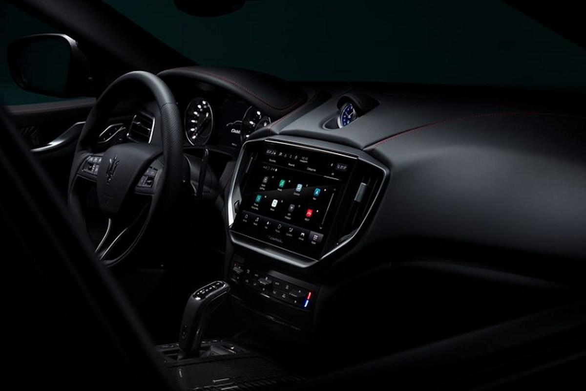 Maserati 2021 nang cap toan dien, man hinh trung tam to khong lo-Hinh-6