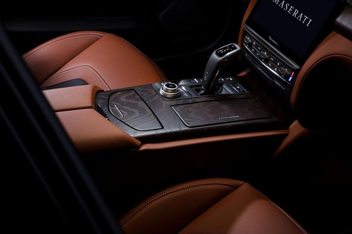 Maserati 2021 nang cap toan dien, man hinh trung tam to khong lo-Hinh-8
