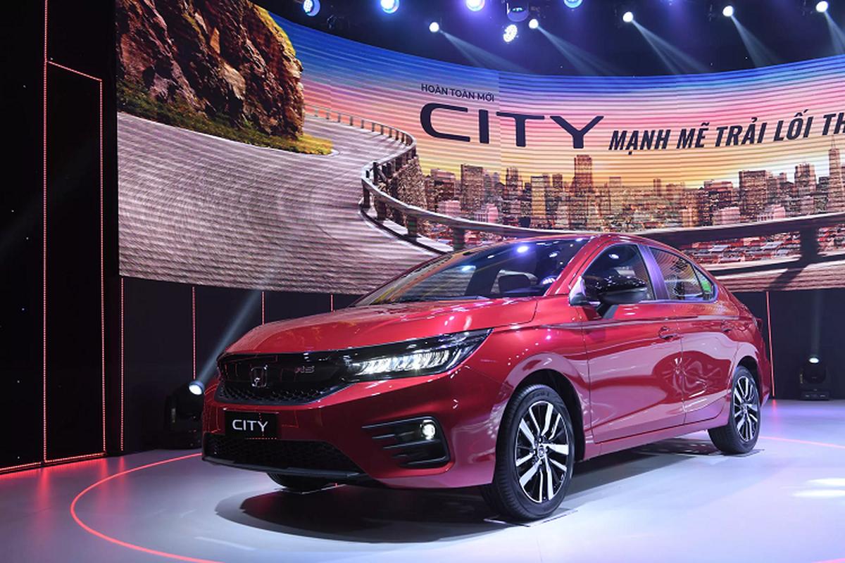 Honda City 2021 tai Viet Nam co gi khien nguoi dung