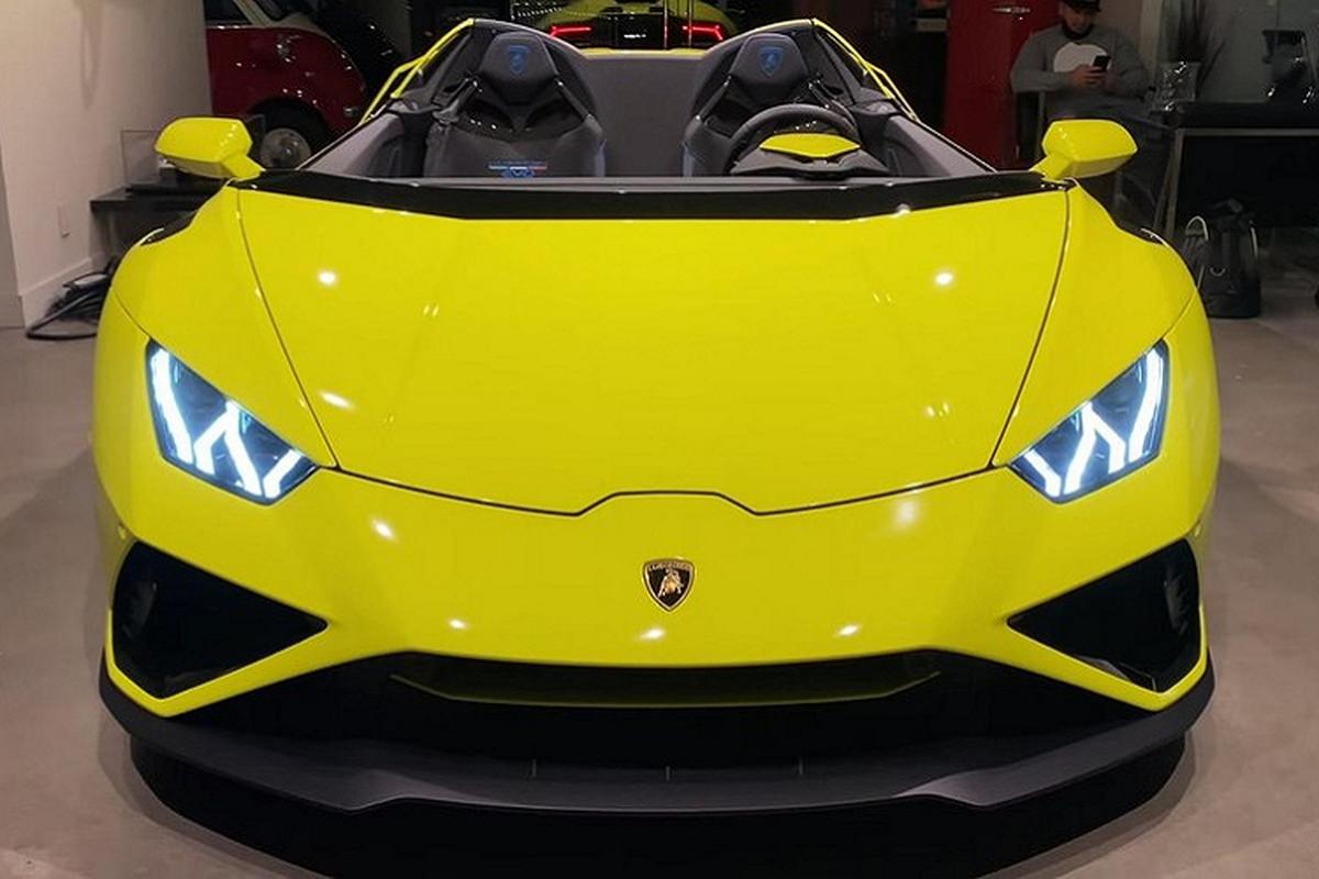"""Ngam sieu xe Lamborghini Huracan Evo """"Aperta"""" 840 ma luc, doc nhat-Hinh-2"""