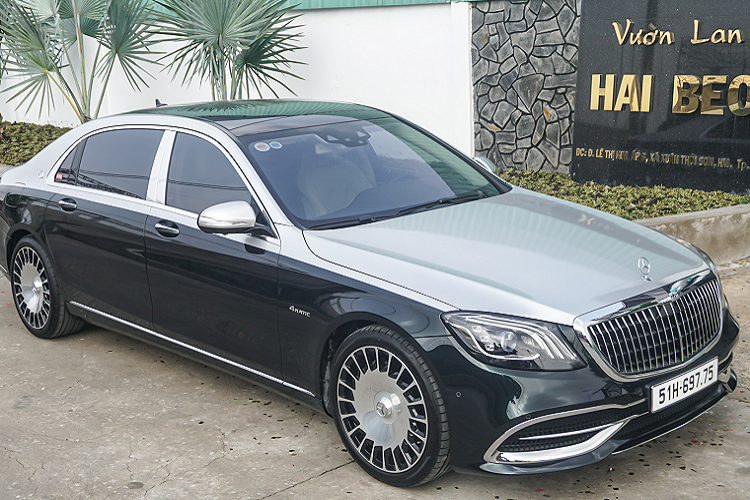 Mercedes-Maybach S560 4 Matic