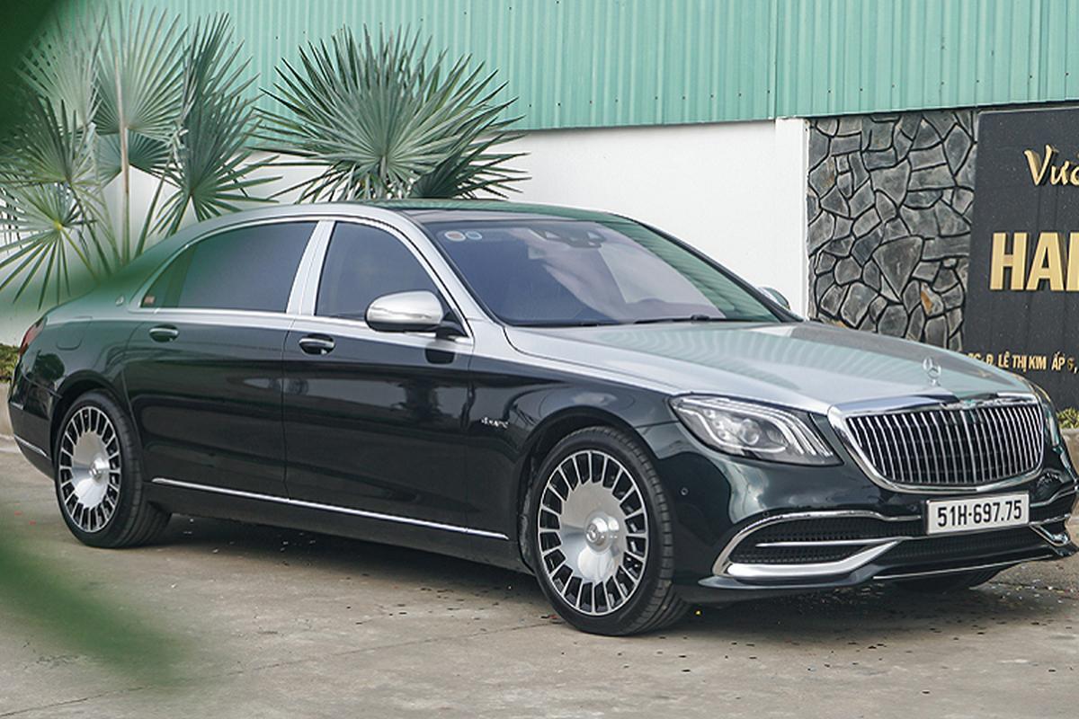 """Mercedes-Maybach S560 4 Matic """"màu độc"""" hơn 11 tỷ về Việt Nam"""