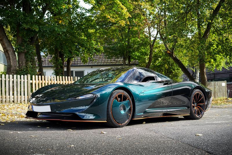 McLaren Speedtail co xung dang voi so tien hon 110 ty dong?