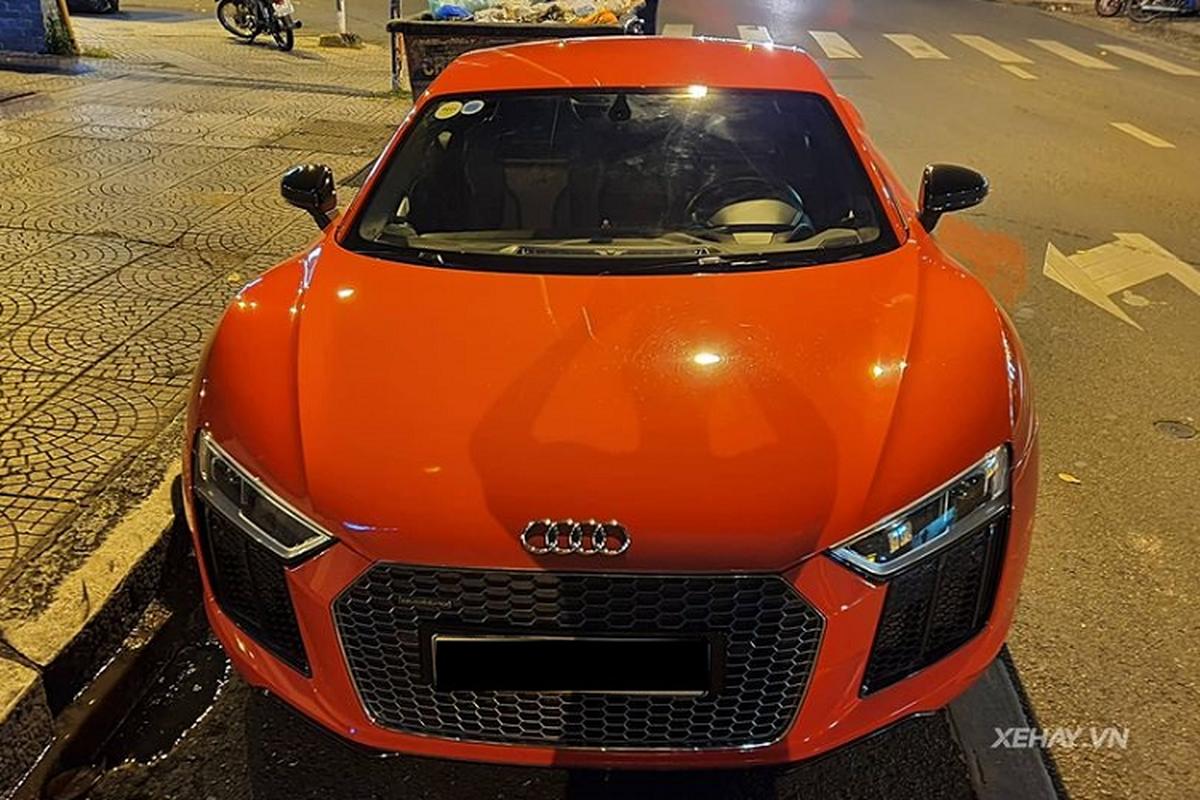 """Sieu xe Audi R8 V10 Plus """"tai xuat"""" cung chu nhan tai Sai Gon-Hinh-3"""