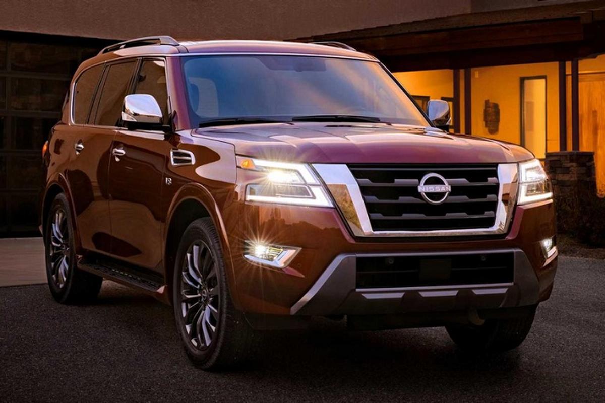 Nissan Armada 2021 moi co gi de canh tranh Toyota Land Cruiser?-Hinh-2