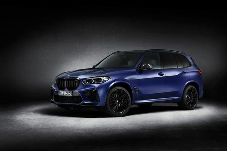 BMW X5 M va X6 M Competitio First Edition 2021 tu 4,6 ty dong
