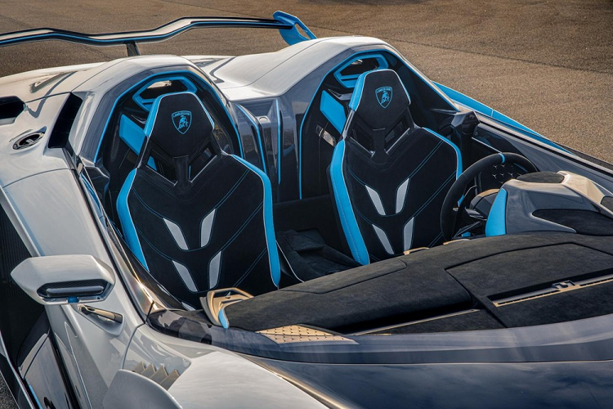 Chi tiet sieu xe Lamborghini SC20