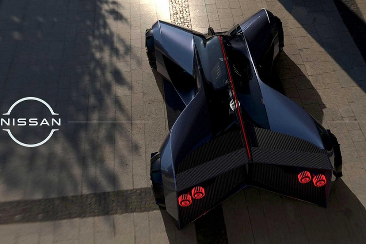 """Nissan GT-R (X) 2050, sieu xe phai """"nam sap"""