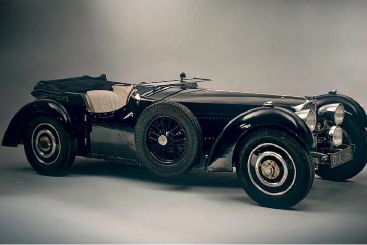 "Bugatti Type 57S ""Dulcie"" sau hon 80 nam co gia 200 ty dong"
