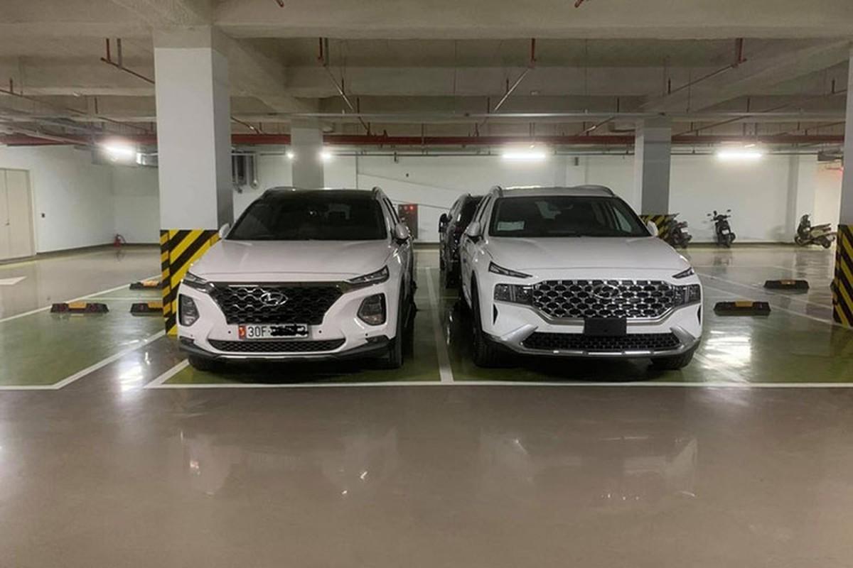 Hyundai SantaFe 2021 lan dau lan banh tai Viet Nam-Hinh-10