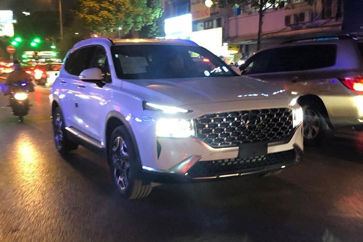 Hyundai SantaFe 2021 lan dau lan banh tai Viet Nam-Hinh-3