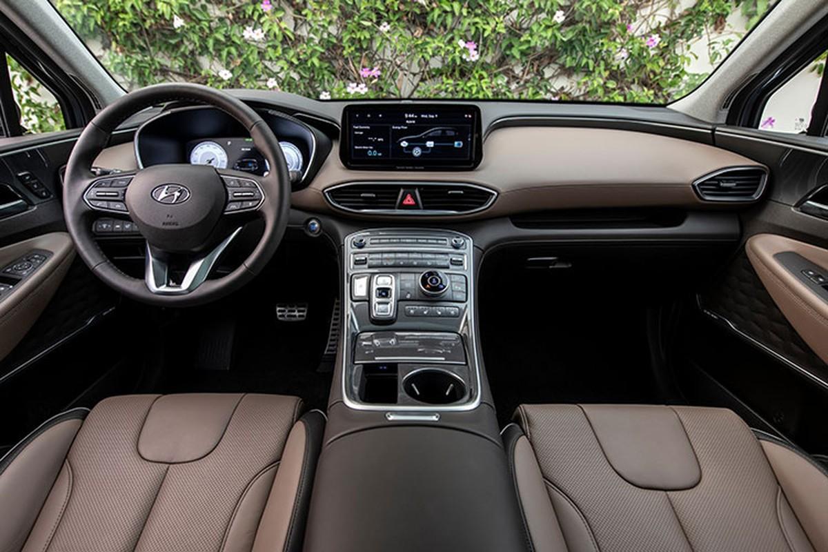 Hyundai SantaFe 2021 lan dau lan banh tai Viet Nam-Hinh-7