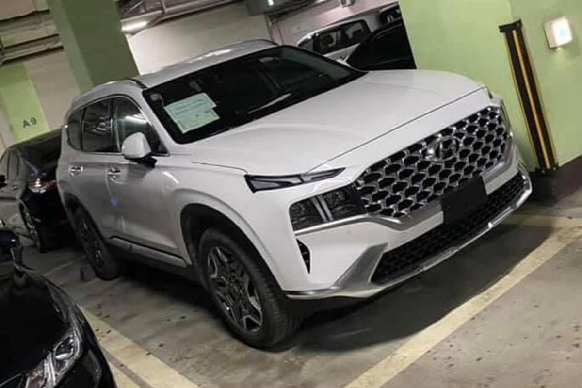 Hyundai SantaFe 2021 lan dau lan banh tai Viet Nam-Hinh-9