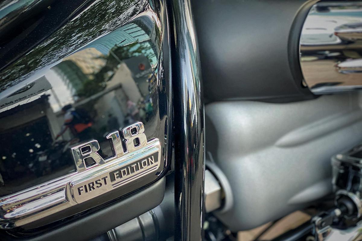 Xe moto BMW R18 First Edition tien ty dau tien ve Viet Nam-Hinh-7