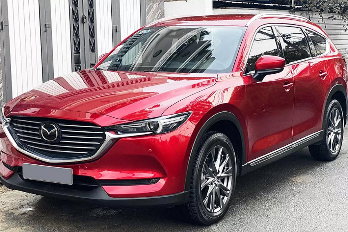 """Lan banh 2.000km, chu xe Mazda CX-8 ban """"lo"""" gan 300 trieu dong"""