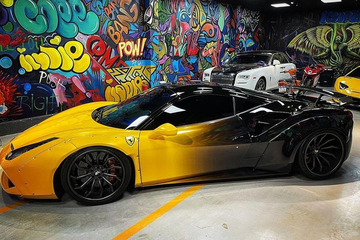 "Ferrari 488 GTB Liberty Walk doc nhat Viet Nam bat ""trend"