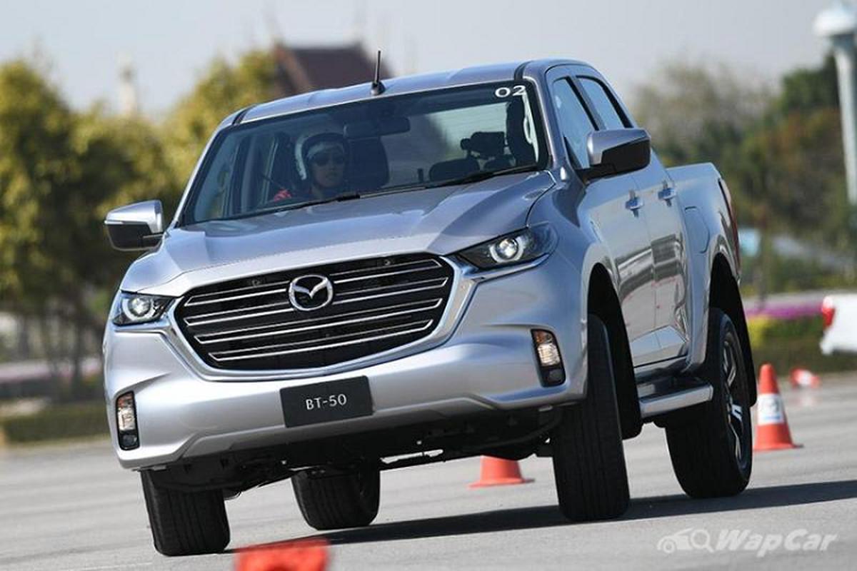 Mazda BT-50 2021 trinh lang Thai Lan, sap ve Viet Nam?