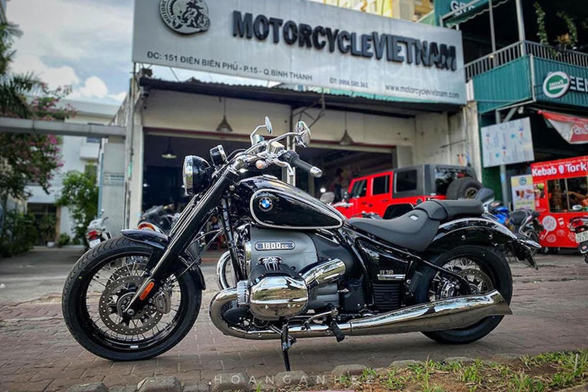 Xe môtô BMW R18 First Edition tiền tỷ đầu tiên về Việt Nam